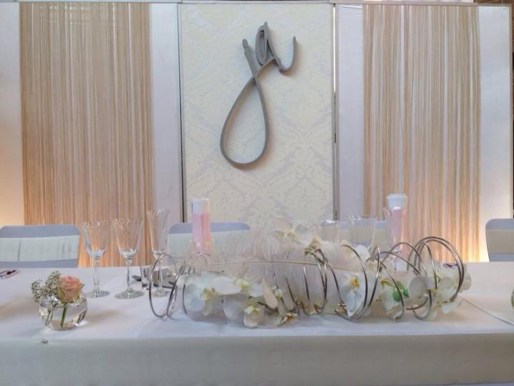 Brauttisch hintergrund verleih und dekoration for Verleih und dekoration